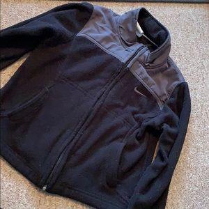 Nike boys fleece zip up sweatshirt